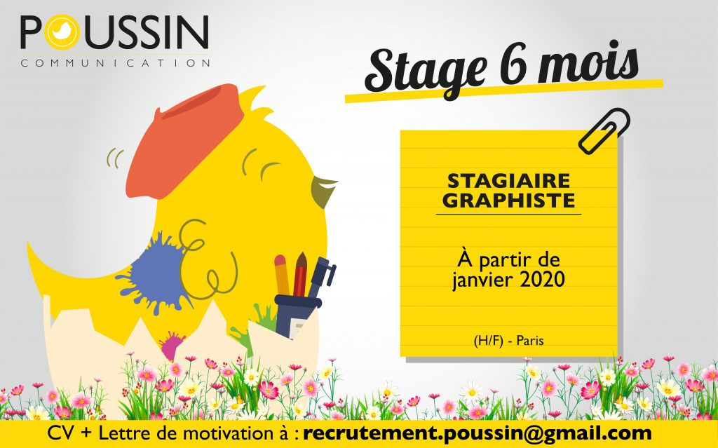 WANTED : STAGIAIRE GRAPHISME